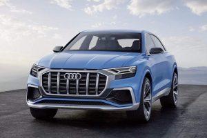 Audi Q8 SUV Concept front