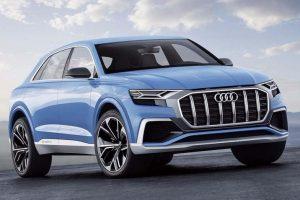 Audi Q8 SUV Concept front side