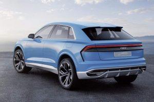 Audi Q8 SUV Concept rear