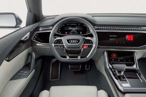 Audi Q8 SUV Concept interior