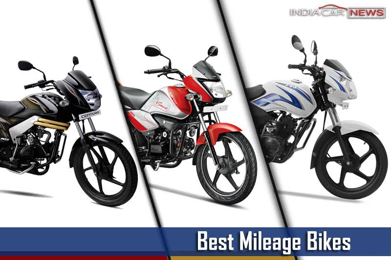 Best Mileage Bikes In India