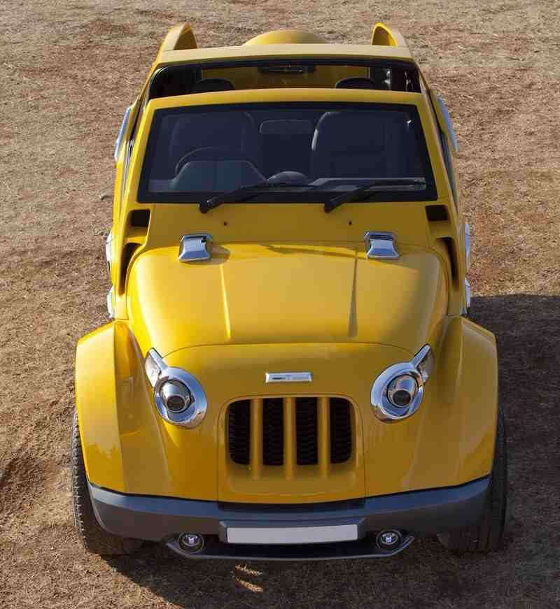 DC Designs Modified Mahindra Thar Image Gallery