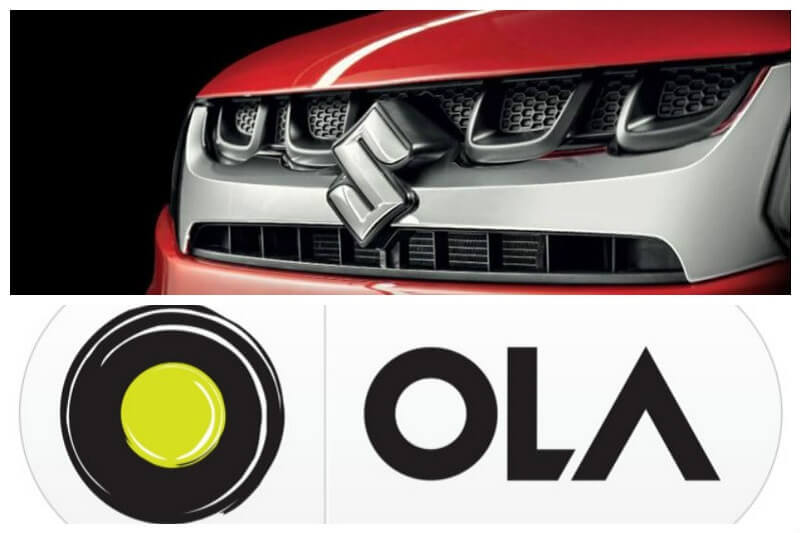 Maruti & Ola collaboration