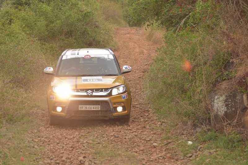 Maruti Suzuki TSD Rally