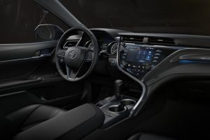 New Toyota Camry 2018 interior