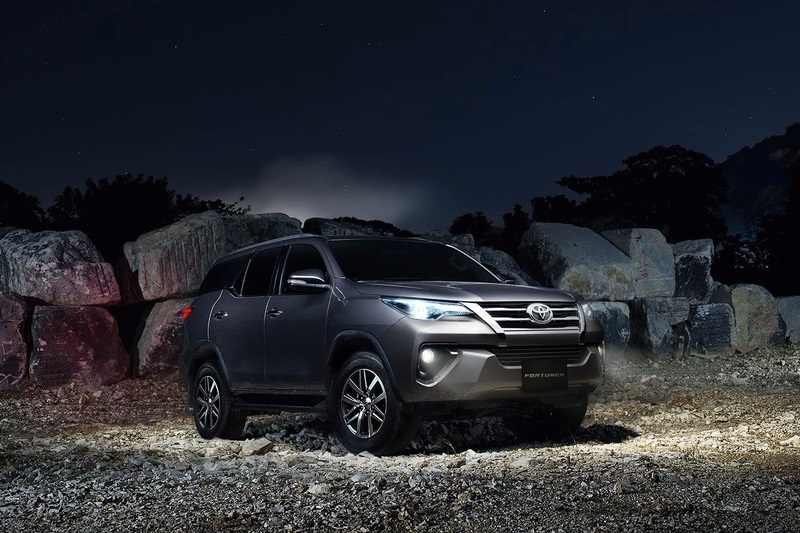 New Toyota Fortuner India