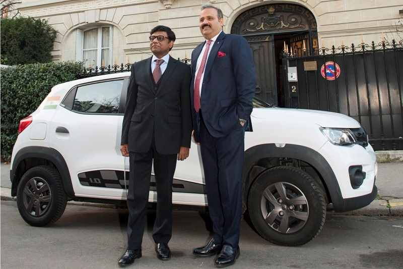 Renault Kwid Delhi to Paris Drive