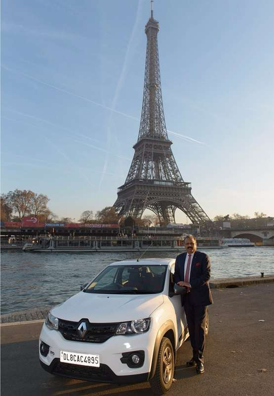 Renault Kwid Drive from Delhi to Paris