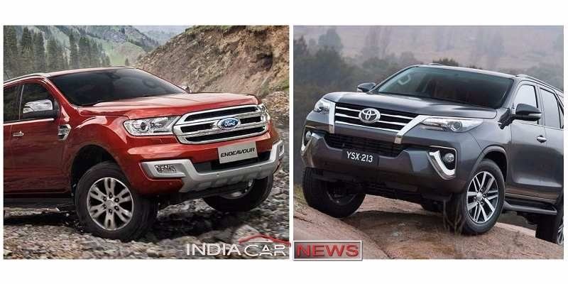Toyota Fortuner Vs Endeavour November Sales