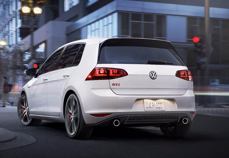 Volkswagen Golf GTI India rear