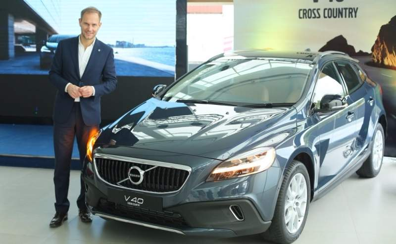 New 2017 Volvo V40 Cross Country