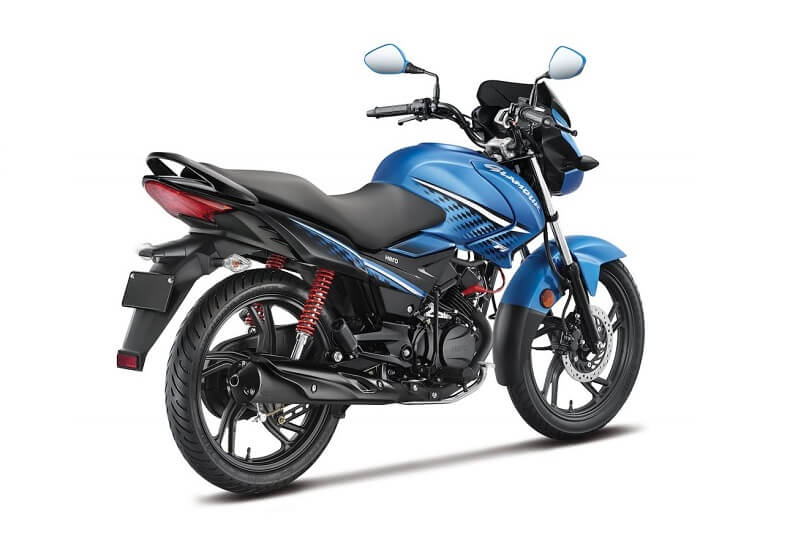 2017 Hero Glamour 125 cc in Blue
