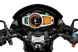 2017 Hero Glamour 125 cc India digital cluster