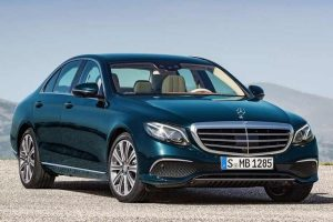 2017 Mercedes E Class India spec