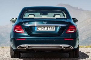 2017 Mercedes E Class India rear