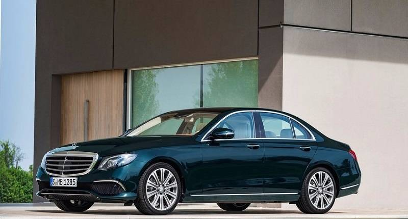 2017 Mercedes E Class India side profile