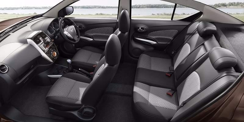 2017 Nissan Sunny facelift interior