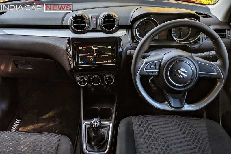 2018 Maruti Suzuki Swift Interior
