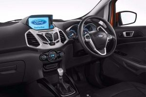 Ford EcoSport Platinum Edition interior