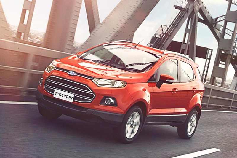 ford ecosport to get a new touchscreen system. Black Bedroom Furniture Sets. Home Design Ideas