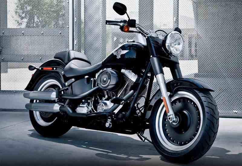Harley Davidson FatBoy MS Dhoni-compressed - India Car News