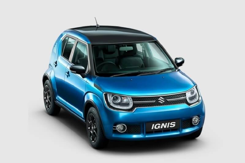 maruti ignis alpha amt version launched price and details. Black Bedroom Furniture Sets. Home Design Ideas