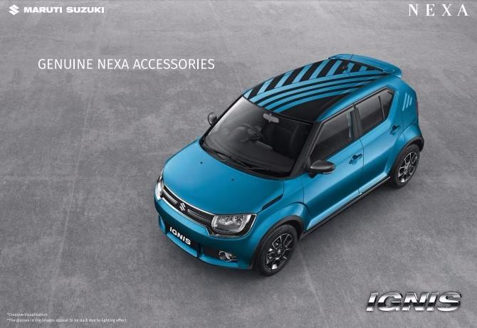 Maruti Suzuki Ignis Accessories Will Further Add To Its