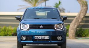 Maruti Ignis Review Front