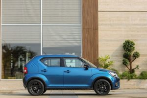 Maruti Ignis Review side profile