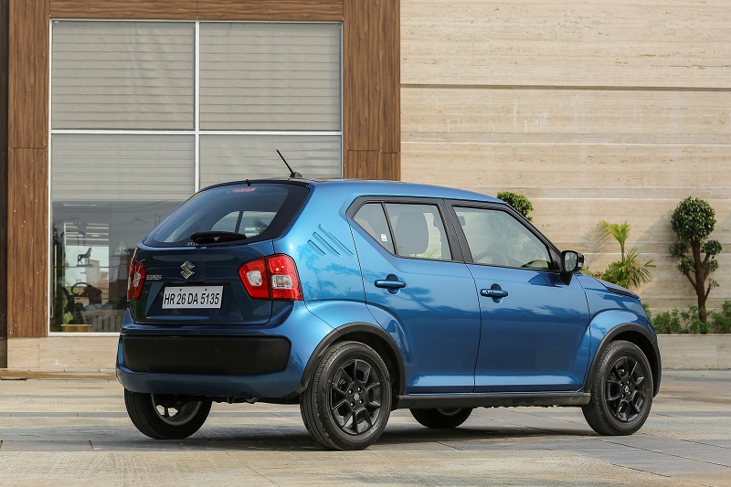 Maruti Suzuki Ignis Review side-rear