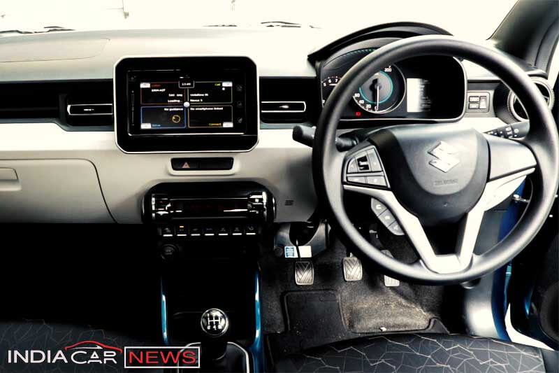 Maruti Suzuki Ignis Review Interior