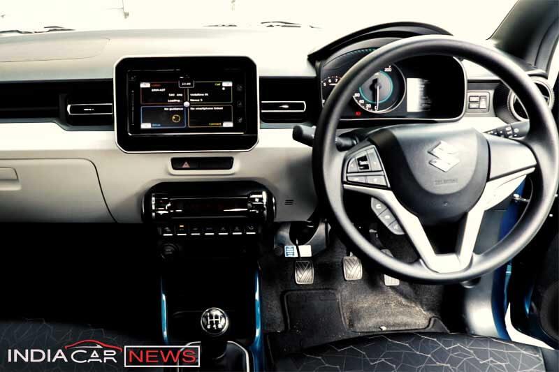 Maruti Suzuki Ignis Review Interior