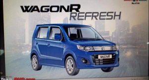 2017 Maruti Wagon R Refresh