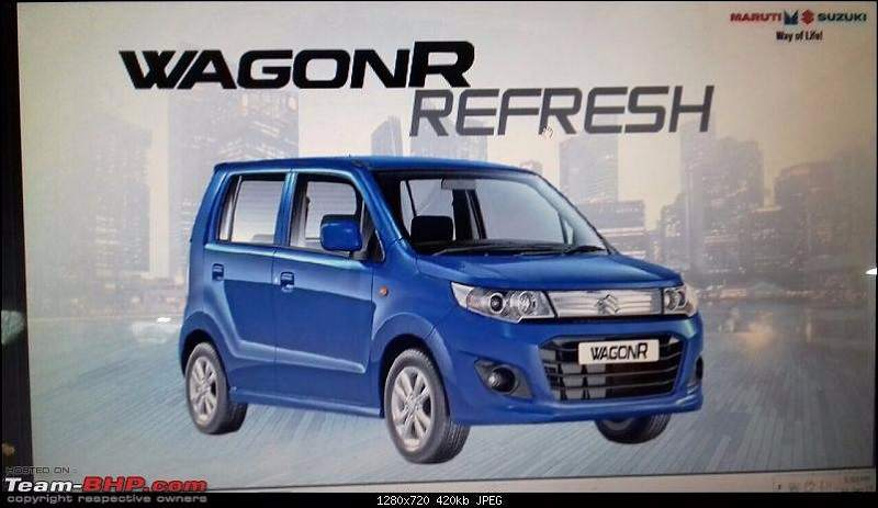 2017 Maruti Wagon R Refresh