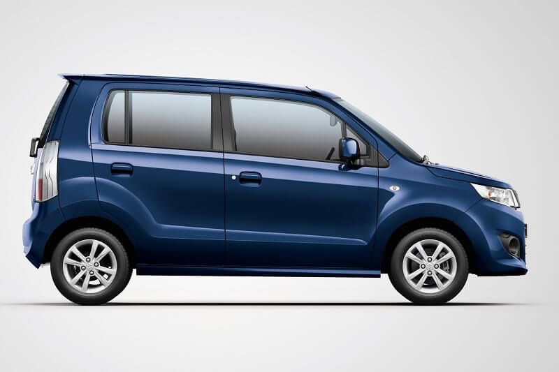 Maruti WagonR VXi+ side profile