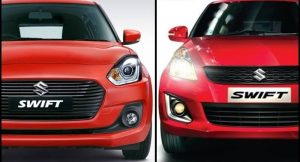 New Maruti Swift Vs Old Swift