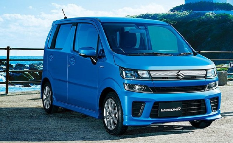 New Maruti Wagon R 2017 in blue