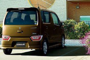 New Maruti Wagon R 2017 rear profile