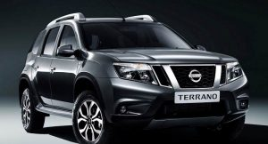 New Nissan Terrano 2017 facelift