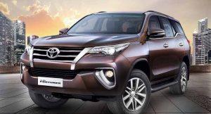 New Toyota Fortuner Genuine Accessories