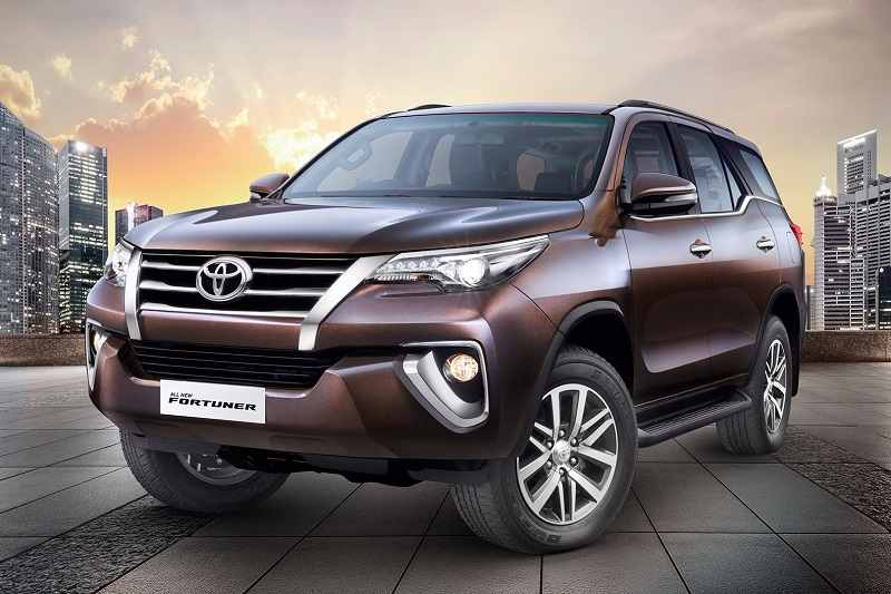 New Toyota Fortuner Genuine Accessories