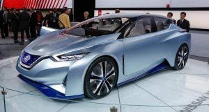 Nissan IDS Concept front