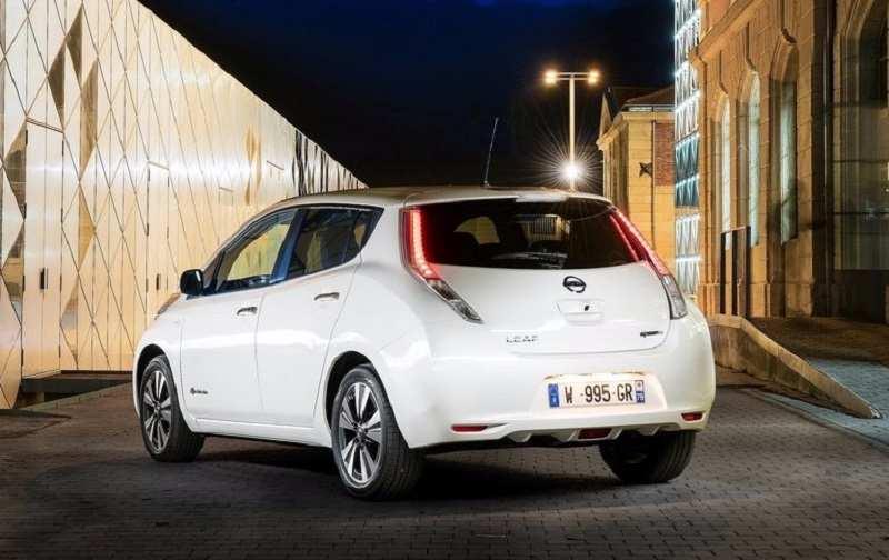 Nissan Leaf India rear