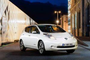 Nissan Leaf India front