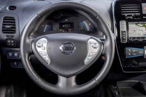 Nissan Leaf India interior