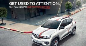 Renault Kwid Live For More Edition price