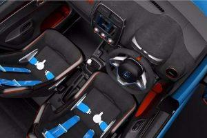 Renault Kwid Racer seats