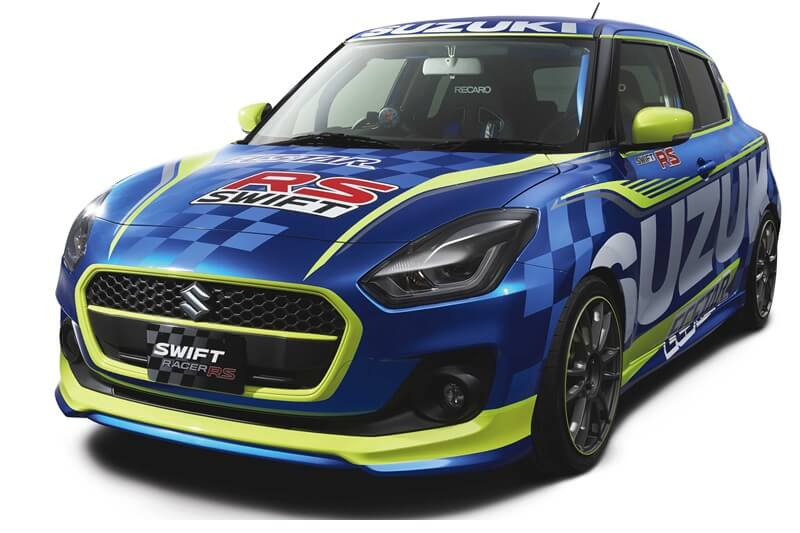 2017 suzuki swift racer rs concept to unveil at tokyo auto. Black Bedroom Furniture Sets. Home Design Ideas