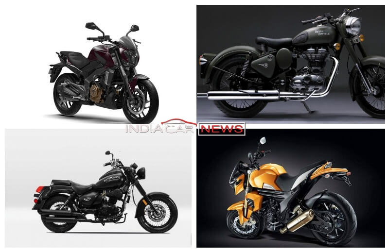Top 5 Cruiser Bikes Under Rs 2 Lakh