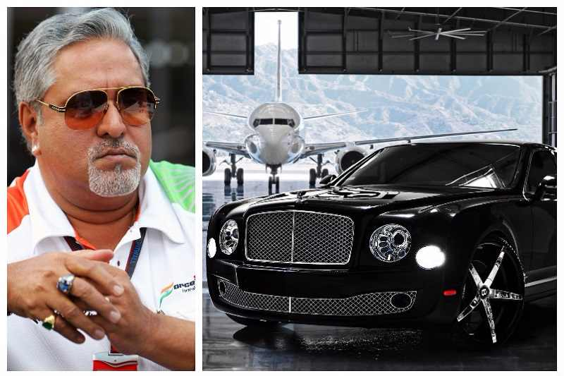Vijay Mallya Cars auctioned